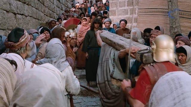 Chemin de croix & crucifixion
