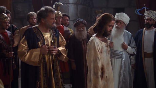 Jésus conduit devant Pilate & Hérode